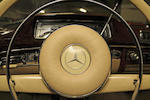 Factory sunroof,1960 Mercedes-Benz 220SE 'Ponton' Coupé  Chassis no. 12803710003385