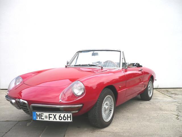 1966 Alfa Romeo Duetto Spider  Chassis no. AR661863