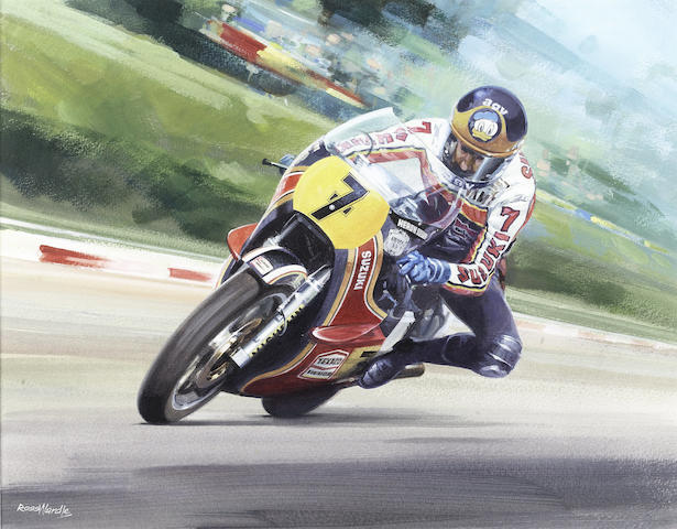 Ross Wardle, 'Barry Sheene - Suzuki RG500',