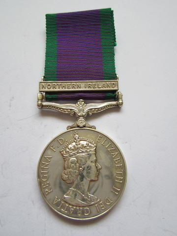Campaign Service Medal 1962,