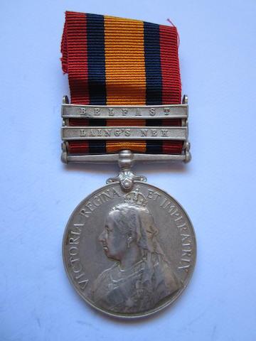 Queen's South Africa 1899-1902,