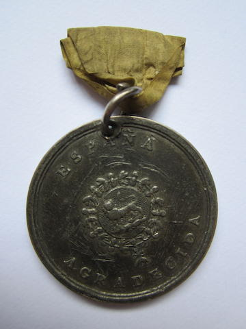 British Legion Medal 1836,