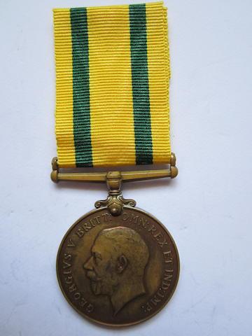 Territorial Force War Medal,