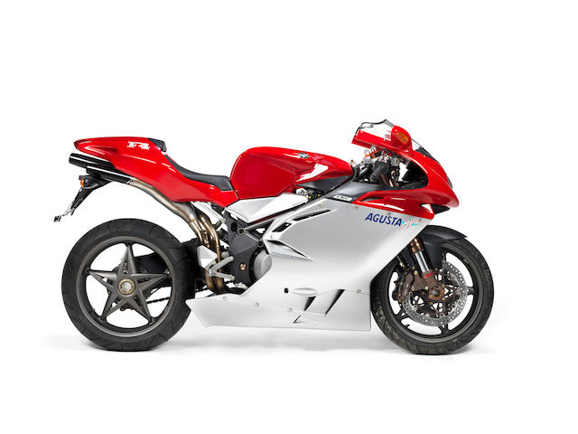 Property of a deceased's estate; never run or registered,2000 MV Agusta 750cc F4 Frame no. ZCGF401BAYV001927 Engine no. F4AY002084