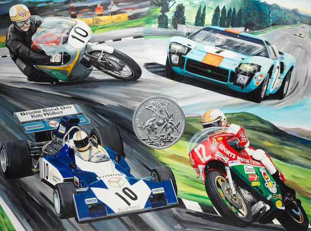 """David Daisy (1975- ): Mike """"The Racer"""" Hailwood,"""