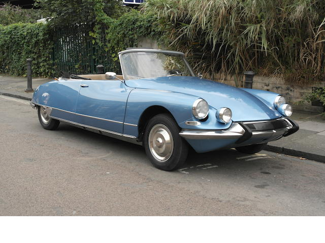 1962 Citroën DS19 Décapotable  Chassis no. DS19 4294050 Engine no. 0214003527