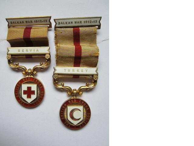 British Red Cross Society medal for the Balakan War 1912-13,