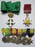 A C.B. group of eight to Major-General J.G.MacNeece, Royal Army Medical Corps,