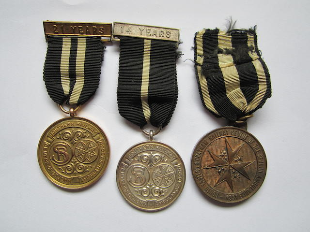 Southern Railway St.John Medals,