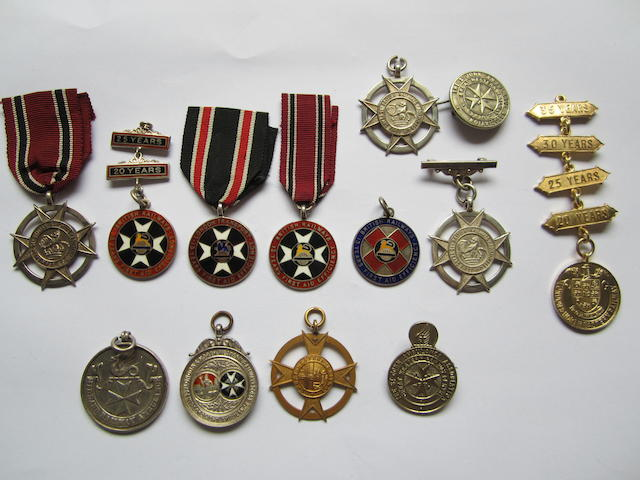 Transport and Railway medals,