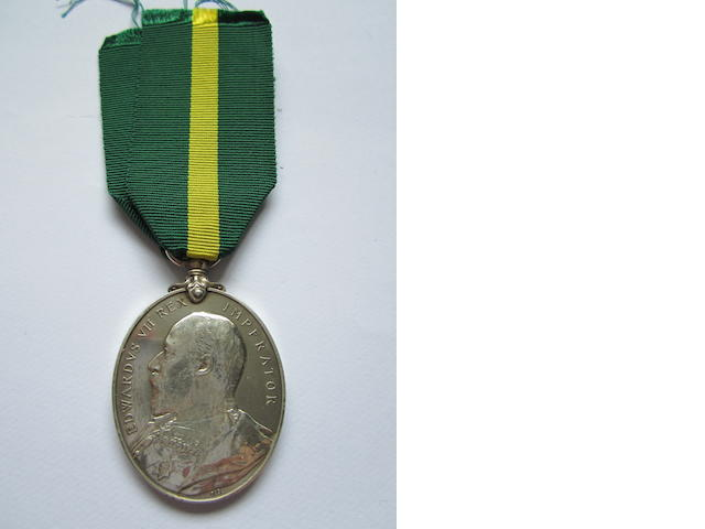 Territorial Force Efficiency Medal,