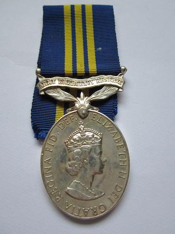 Army Emergency Reserve Efficiency Medal,
