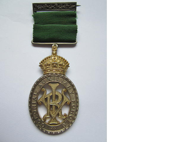 Colonial Auxiliary Forces Officers' Decoration,