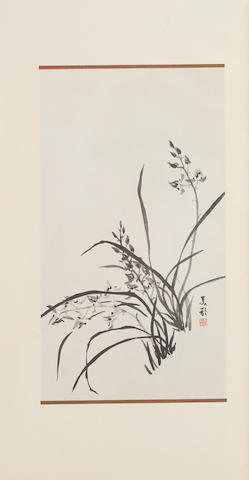 'Madame's Orchids, Title given by Mrs Chiang Kai-shek' Published by China Press, Xinhai year, 60th year of the Republic of China (AD1971/72)