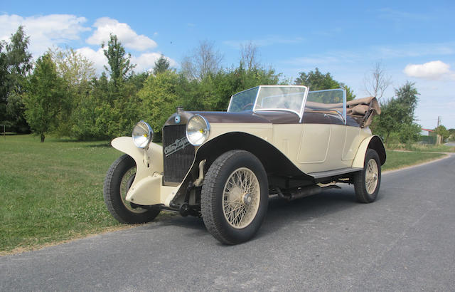 Formerly the property of Philippe Charboneaux,1924 Cottin-Desgouttes 12hp Type M Torpedo  Chassis no. 15317