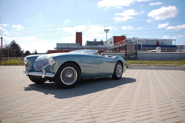 Mille Miglia eligible, delivered new to Holland,1953 Austin-Healey 100/4 BN1 Roadster  Chassis no. BNH/143726 Engine no. 1B/139166