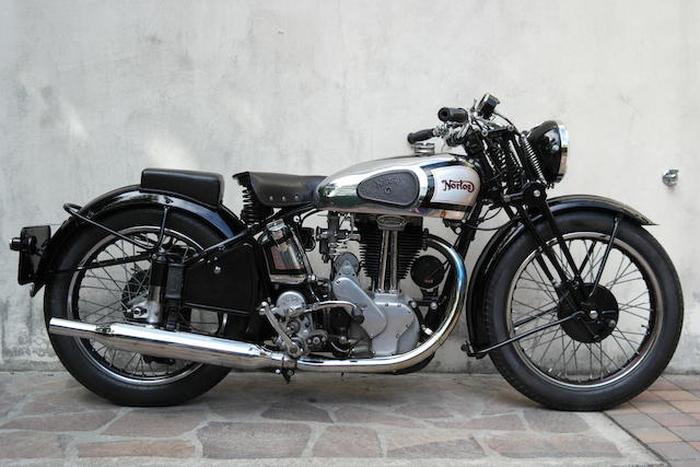 1939 Norton 490cc ES2 Frame no. 5-100544 Engine no. 91217