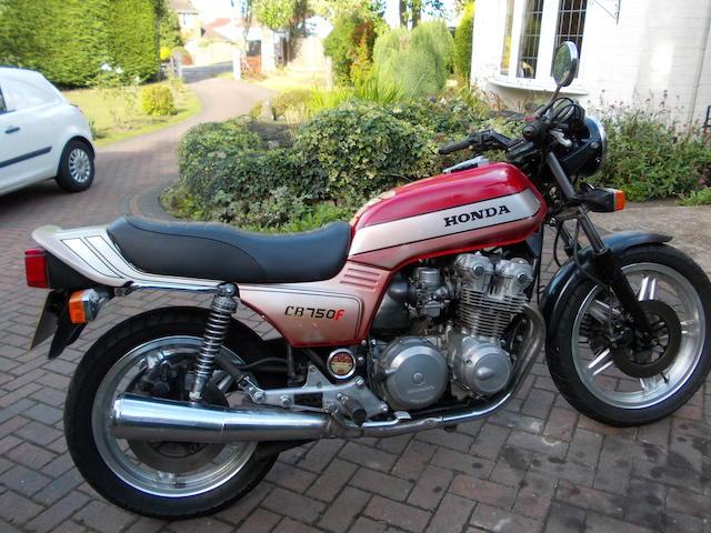 1981 Honda CB750F Frame no. RC04-1000732
