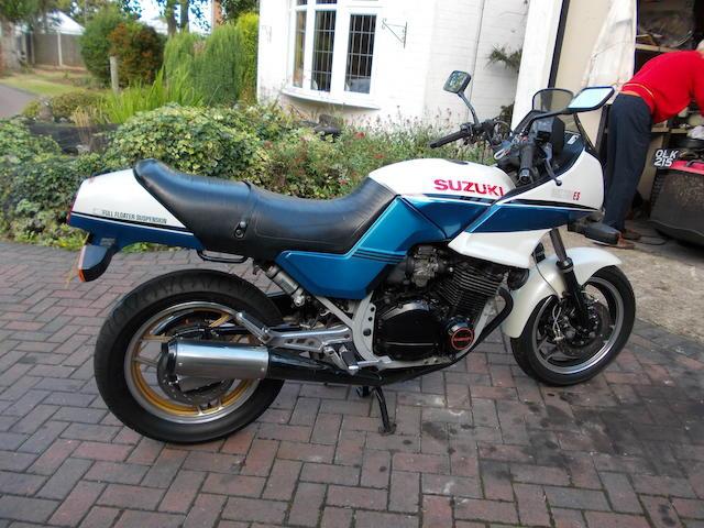 1985 Suzuki GSX750ES Frame no. GR72A000000114423 Engine no. R70300120817