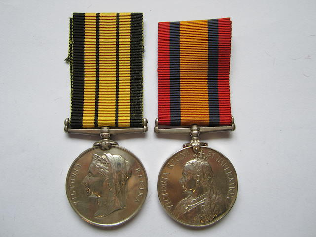Pair to Fleet-Surgeon G.Wilson, Royal Navy,