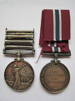 Pair to Sergeant F.G.Kent, Royal Canadian Army Medical Corps, late Royal Garrison Artillery,