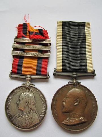 Pair to Orderley H.Feltham, St.John Ambulance Brigade,