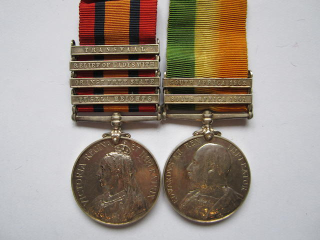 Pair to Captain R.H.Lloyd, Royal Army Medical Corps,