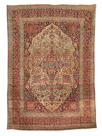 A Mohtashem Kashan carpet, Central Persia, circa 1890, 330cm x 230cm