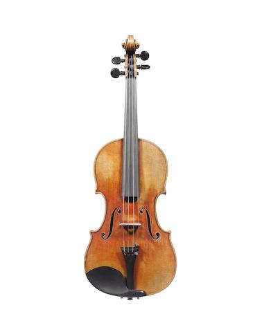 A Violin by Szepessy Bela, London, 1889 (3)