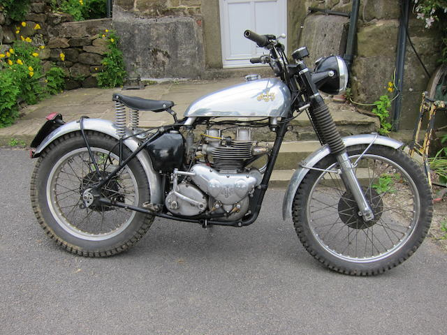 The ex-Roger Ashby,c.1947/1951 AJS 498cc Model 20 Competition Special Frame no. 71010 Engine no. 51/20 7232