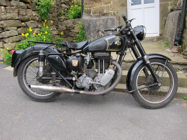 1949 AJS 497cc Model 18S Frame no. 44753 Engine no. 49/18 11734B