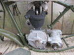 1938 AJS 245cc Model 22 Project Frame no. 3137 Engine no. 38/22 5127 A