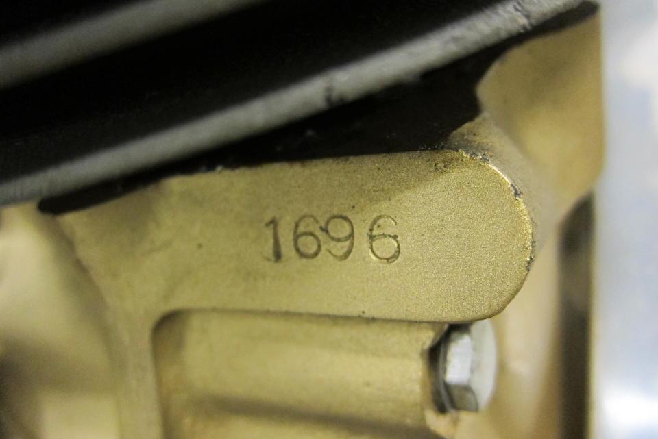 c.1959 AJS 7R 350cc Racing Motorcycle Frame no. 1696 Engine no. 1696