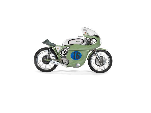 The ex-Francis Beart, Joe Dunphy, Keith Heckles,c.1966 Norton 350cc Model 40 Manx Racing Motorcycle Frame no. 1 66 Engine no. FB 66 JUNE TT
