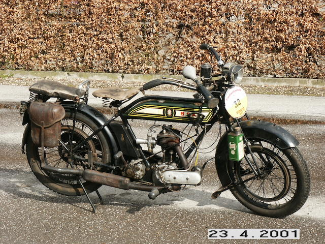 c.1923 BSA 4¼hp 'All Chain' Model H Frame no. 35268 Engine no. 35268