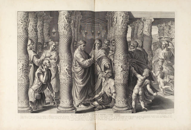 DORIGNY (NICOLAS) Pinacotheca Hamptoniana [Raphael Cartoons], FIRST EDITION, 1719
