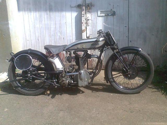 1929 Norton 490cc CS1 Frame no. 38782 Engine no. CS39087