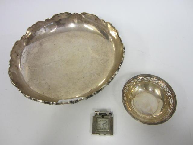 A Peruvian silver bowl Stamped Sterling 925 Peru  (3)