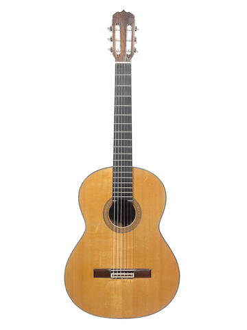 A Spanish Guitar by Anton Martinez Ortega, Madrid, 1963 (2)