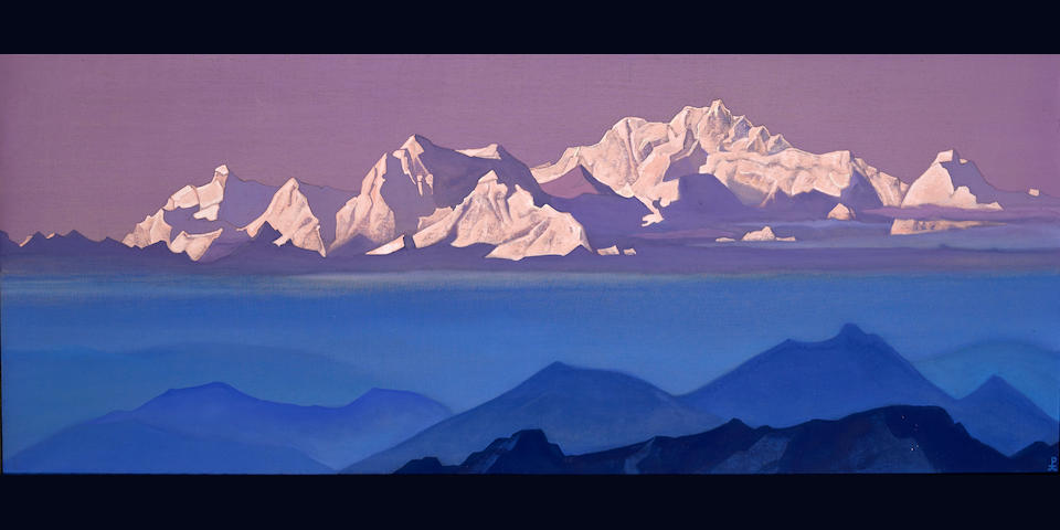 The Russian Sale: Nikolai Roerich 'Kanchenjunga' sells for for £1,314,500 inc. premium