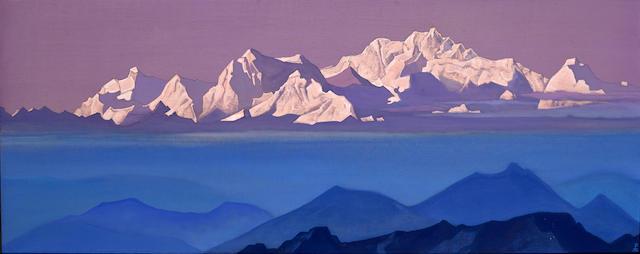 Nikolai Konstantinovich Roerich (Russian, 1874-1947) 'Kanchenjunga,' 1935-1936