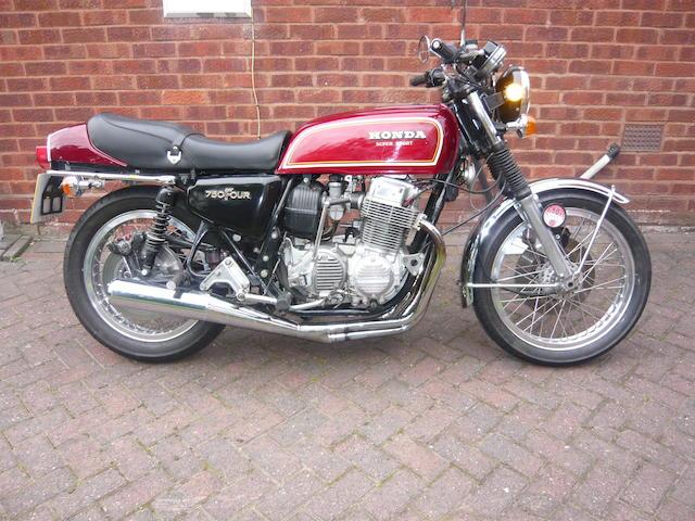 1978 Honda CB750F Frame no. CB750F-1036146 Engine no. CB750E-2558698