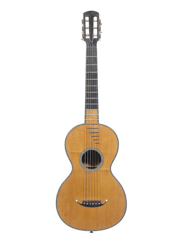 A Parlour Guitar of the French school circa 1850 (1)