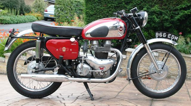 1961 Matchless 650cc G12 CSR Frame no. A78499 Engine no. G12CS X5760