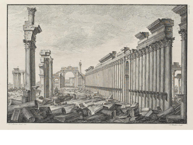 WOOD (ROBERT) The Ruins of Palmyra Otherwise Tedmor in the Desart, 1753