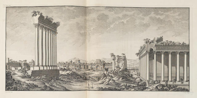 WOOD (ROBERT) The Ruins of Balbec, Otherwise Heliopolis in Coelosyria, first edition, 1757