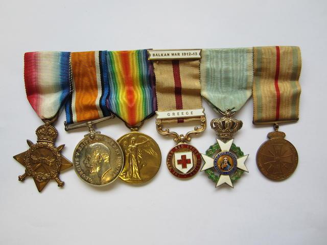 Six to Captain G.Matthews, Royal Army Medical Corps,