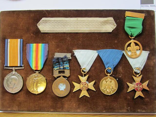 Group to Honourable E.Cameron-Corbett, Voluntar Aid Detachment,