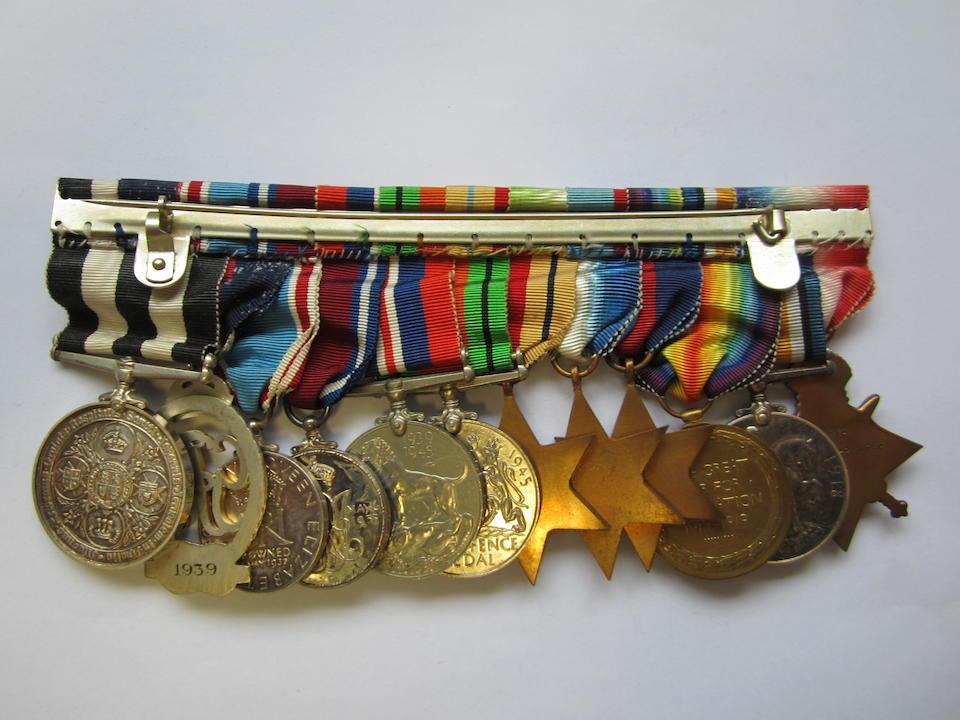 Twelve to Surgeon Lieutenant H.Parry-Price, Royal Navy,