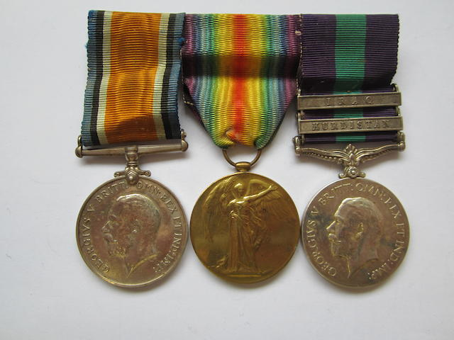 Three to Captain F.M.Halley, Royal Army Medical Corps,